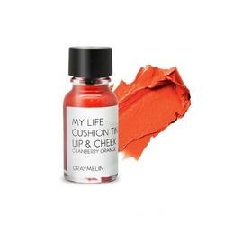 Тинт для губ и щек цвета cranberry orange Graymelin