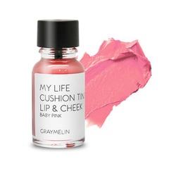 Тинт для губ и щек цвета baby pink Graymelin (Корея)