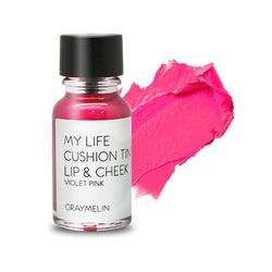 Тинт для губ и щек цвета violet pink Graymelin