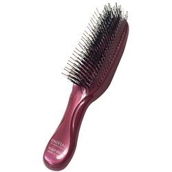 Японская массажная расческа S Heart S Scalp Brush Univiala 572 зубчика цвета рубин
