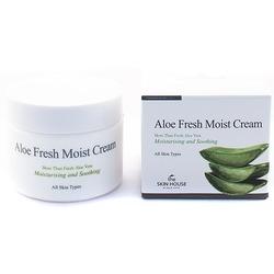 Увлажняющий крем для лица с экстрактом алоэ Aloe Fresh Moist Cream The Skin House