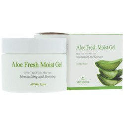 Крем-гель для лица с экстрактом алоэ Aloe Fresh The Skin House (Корея)