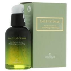 Увлажняющая и успокаивающая сыворотка с экстрактом алоэ Aloe Fresh The Skin House