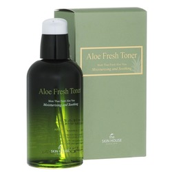 The Skin House (Корея) Успокаивающий тонер с экстрактом алое Aloe Fresh