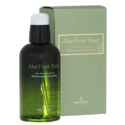 Успокаивающий тонер с экстрактом алое Aloe Fresh The Skin House
