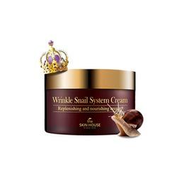 Анти-возрастной улиточный крем Wrinkle System The Skin House
