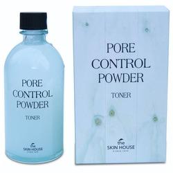 Тоник для очищения и сужения пор с абсорбирующей пудрой Pore Control The Skin House
