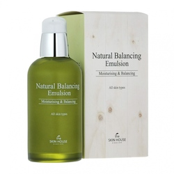 Матирующая балансирующая эмульсия Natural Balancing The Skin House (Корея)