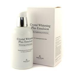 Отбеливающая эмульсия против пигментации Crystal Whitening The Skin House (Корея)