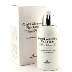 Интенсивно отбеливающий тоник для лица Crystal Whitening The Skin House (Корея)