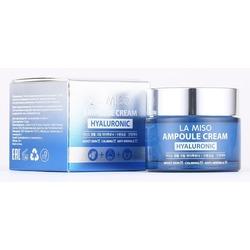 Ампульный крем с гиалуроновой кислотой Ampoule Cream Hyaluronic La Miso (Корея)