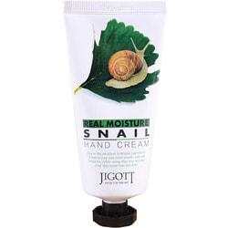 Питательный крем для рук с экстрактом улитки Jigott (Корея)