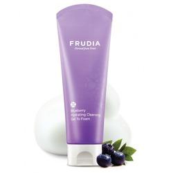 Frudia (Корея) Увлажняющая гель-пенка для умывания с черникой