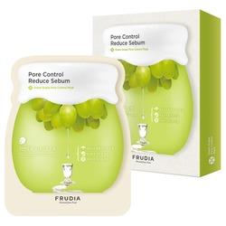 Себорегулирующая маска с зеленым виноградом Frudia