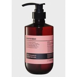 Очищающий и охлаждающий шампунь для кожи головы Moremo