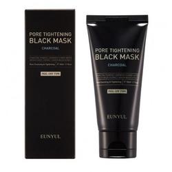 Черная маска пленка сужающая поры с углем Eunyul