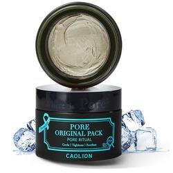 Охлаждающая глиняная маска для очищения пор на лице Premium Pore Original Pack CAOLION