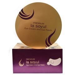 Патчи и кремовые сферы для кожи вокруг глаз 2 в 1 Premium La Soyul