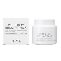 Очищающая маска для лица с белой глиной White Clay Brilliant Pack Eunyul (Корея)