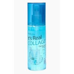 Гель-спрей для лица с коллагеном It's Real Gel Mist Collagen FarmStay (Корея)