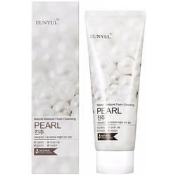 Очищающая пенка с жемчужной пудрой Pearl Foam Cleanser Eunyul