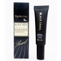 Премиальный крем для глаз с муцином черной улитки Black Snail Premium Eye Cream FarmStay