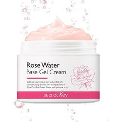 Гель-крем для лица с экстрактом розы Rose Water Base Gel Cream Secret Key