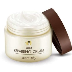 Крем для лица с муцином улитки Snail Repairing Cream Secret Key