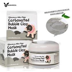Кислородная глиняно-пузырьковая маска для сужения пор Carbonated Bubble Clay Mask Elizavecca
