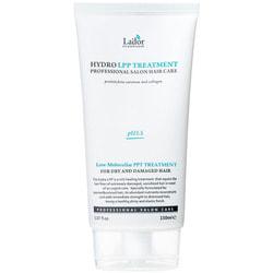 Профессиональная восстанавливающая маска для волос с гидролизованным коллагеном Eco Hydro LPP Treatment Lador