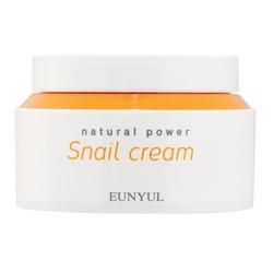 Крем с муцином улитки Natural Power Snail Cream Eunyul