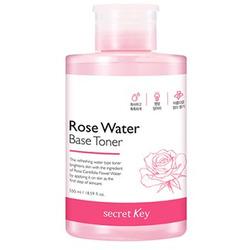 Увлажняющий тоник для лица с экстрактом розы Rose Water Base Toner Secret Key