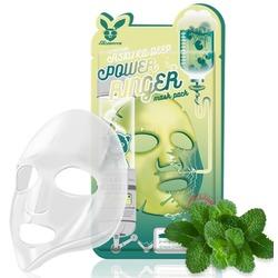 Тканевая маска для лица с экстрактом центеллы азиатской Centella Asiatica Deep Power Ringer Mask Pack Elizavecca