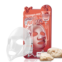 Омолаживающая тканевая маска для лица с коллагеном Collagen Deep Power Ringer Mask Pack Elizavecca