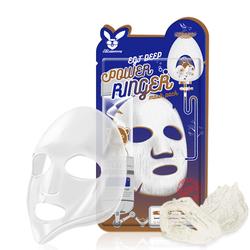 Тканевая маска для лица с эпидермальным фактором роста EGF Deep Power Ringer Mask Pack Elizavecca