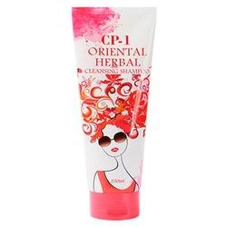 Шампунь для волос с экстрактами восточных трав CP-1 Oriental Herbal Cleansing Shampoo Esthetic House
