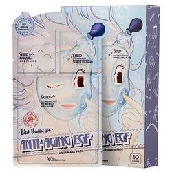 Трёхступенчатая омолаживающая тканевая маска для лица 3-Step Anti-Aging EGF Aqua Mask Sheet Elizavecca
