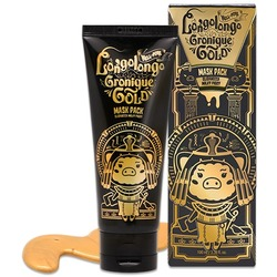Маска-пленка с золотом Hell-Pore Longolongo Gronique Gold Mask Pack Elizavecca