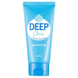 Пенка для умывания Deep Clean Foam Cleanser Moist Apieu
