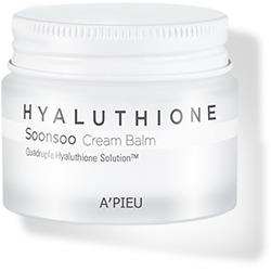 Глубокоувлажняющий крем-бальзам для лица Hyaluthione Soonsoo Cream Balm A'PIEU