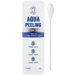 Ватная палочка для пилинга лица с AHA кислотами Aqua Peeling Cotton Swab Mild Apieu