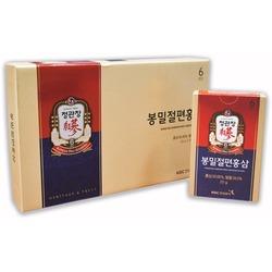 Корень корейского красного женьшеня в меду в виде слайсов (кусочков) Korean Red Ginseng Slices Cheong Kwan Jang