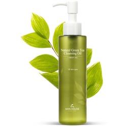 Гидрофильное масло с экстрактом зелёного чая Natural Green Tea Cleansing Oil The Skin House