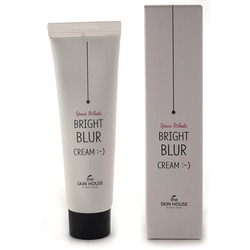 Крем фотошоп выравнивающий цвет лица Bright Blur Cream The Skin House