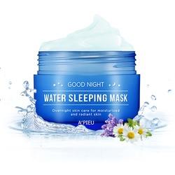 Омолаживающая ночная маска для лица Good Night Water Sleeping Mask Apieu