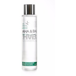 Тонер для лица с AHA и BHA кислотами Daily Clean Toner Mizon