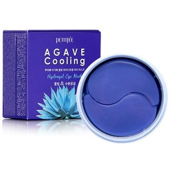 Гидрогелевые охлаждающие патчи для глаз с экстрактом агавы Agave Cooling Hydrogel Eye Mask Petitfee