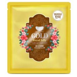 Гидрогелевая маска для лица с золотом и маточным молочком Gold & Royal Jelly Hydrogel Mask Pack KOELF