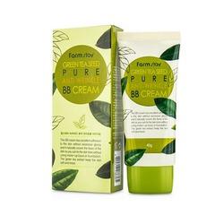 Антивозрастной ББ крем с семенами зеленого чая Green Tea Seed Pure Anti-Wrinkle BB Cream FarmStay