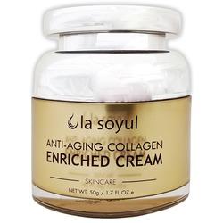 Антивозрастной крем обогащенный коллагеном Premium Anti-Aging Collagen Enriched Cream La Soyul